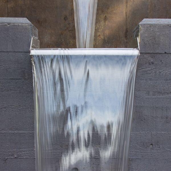 Bluestone slate waterfall fountain